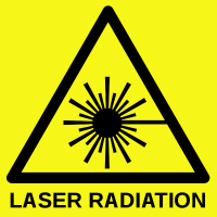 Lasers are not toys!